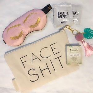 NWT Silk Sleep Mask Gift Set